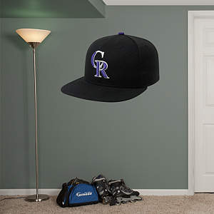 Colorado Rockies Cap Fathead Wall Decal