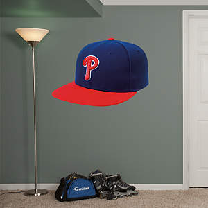 Philadelphia Phillies Alternate Cap Fathead Wall Decal
