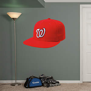 Washington Nationals Cap Fathead Wall Decal