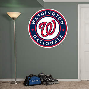 Washington Nationals Logo Fathead Wall Decal