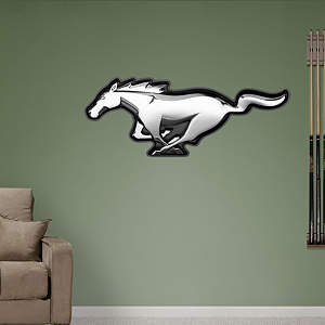 Ford Mustang Logo Fathead Wall Decal