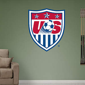 US Soccer Crest Fathead Wall Decal