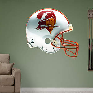 Tampa Bay Buccaneers Throwback Helmet Fathead Wall Decal