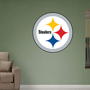 Pittsburgh Steelers Logo Fathead Wall Decal