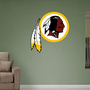 Washington Redskins Logo Fathead Wall Decal