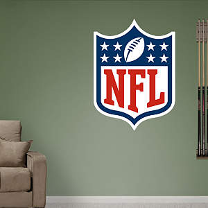 NFL Logo Fathead Wall Decal