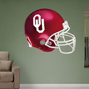 Oklahoma Sooners Helmet Fathead Wall Decal