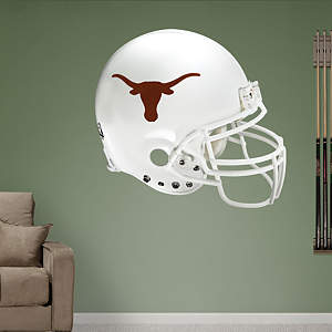 Texas Longhorns Helmet Fathead Wall Decal