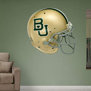 Baylor Bears Helmet Fathead Wall Decal