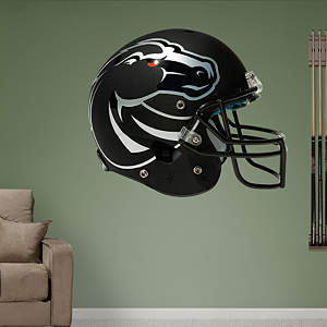 Boise State Broncos 2013 Black Helmet Fathead Wall Decal