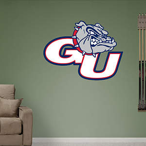 Gonzaga Bulldogs Logo Fathead Wall Decal