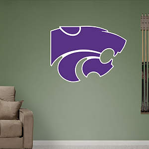 Kansas State Wildcats Logo Fathead Wall Decal