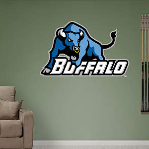 Buffalo Bulls Logo Fathead Wall Decal
