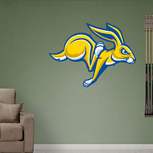 South Dakota State Jackrabbits Logo Fathead Wall Decal