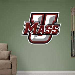 UMass Logo Fathead Wall Decal