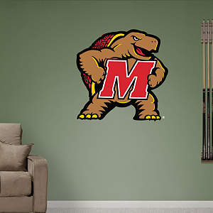 Maryland Terrapins 2012 Logo Fathead Wall Decal