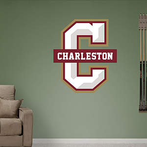 Charleston Cougars Logo Fathead Wall Decal