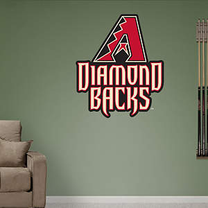 Arizona Diamondbacks Logo Fathead Wall Decal