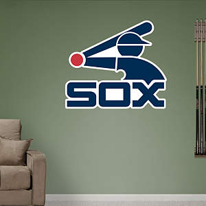 Chicago White Sox Classic Logo Fathead Wall Decal