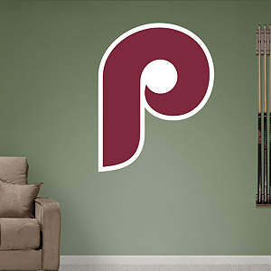 Philadelphia Phillies Classic Logo Fathead Wall Decal