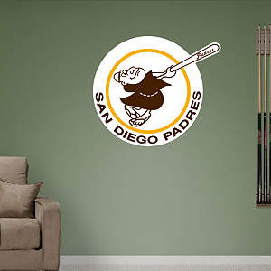 San Diego Padres Classic Logo Fathead Wall Decal