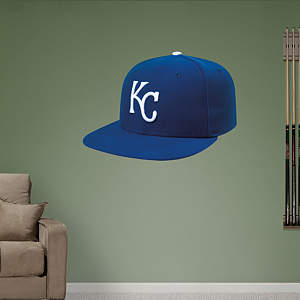 Kansas City Royals Cap Fathead Wall Decal