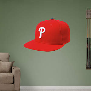 Philadelphia Phillies Cap Fathead Wall Decal