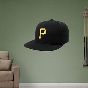 Pittsburgh Pirates Cap Fathead Wall Decal
