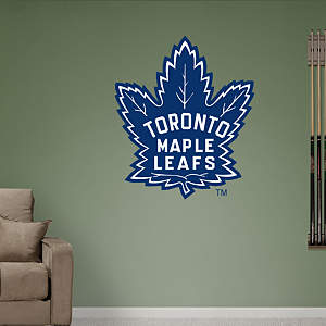 Toronto Maple Leafs Vintage Logo Fathead Wall Decal
