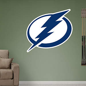 Tampa Bay Lightning Logo Fathead Wall Decal