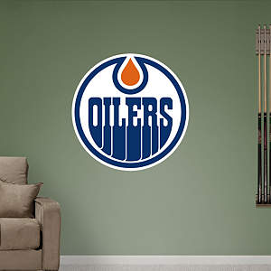 Edmonton Oilers Logo Fathead Wall Decal