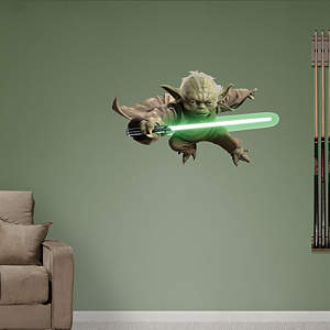 Yoda Fathead Wall Decal