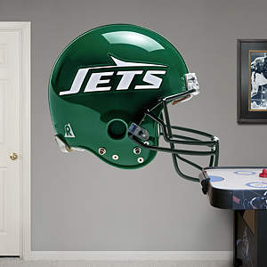 New York Jets Throwback Helmet Fathead Wall Decal