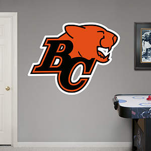 BC Lions Logo Fathead Wall Decal