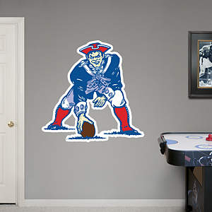 Boston Patriots Original AFL Logo Fathead Wall Decal