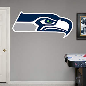 Seattle Seahawks Logo Fathead Wall Decal