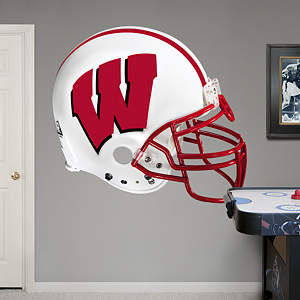 Wisconsin Badgers Helmet Fathead Wall Decal