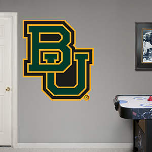 Baylor Bears BU Logo Fathead Wall Decal