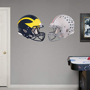 Michigan - Ohio State Rivalry Pack Fathead Wall Decal