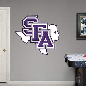 SFA Lumberjacks Logo Fathead Wall Decal