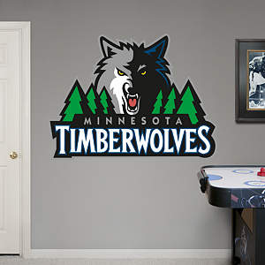 Minnesota Timberwolves Logo Fathead Wall Decal
