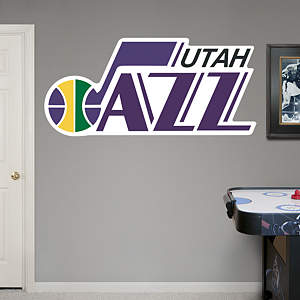 Utah Jazz Classic Logo Fathead Wall Decal