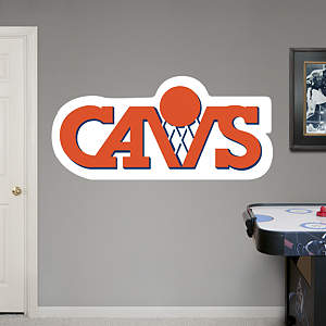 Cleveland Cavaliers Classic Logo Fathead Wall Decal