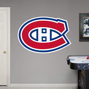 Montreal Canadiens Logo Fathead Wall Decal