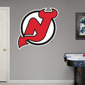 New Jersey Devils Logo Fathead Wall Decal