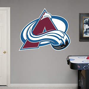 Colorado Avalanche Logo Fathead Wall Decal