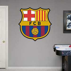 FCBarcelona Crest Fathead Wall Decal