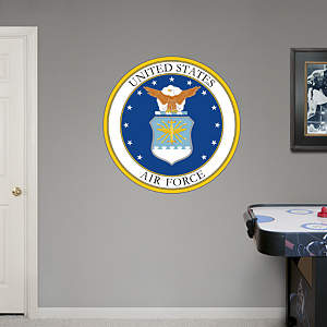 United States Air Force Seal Fathead Wall Decal