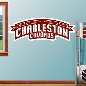 Charleston Cougars Alternate Logo Fathead Wall Decal