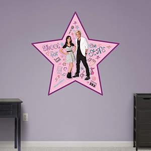 Austin & Ally Doodle Star Fathead Wall Decal